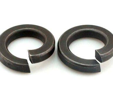 ব্ল্যাক অক্সাইড প্লেইন স্প্রিং ওয়াশার DIN127 DIN128